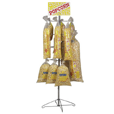 Gold Medal 3210 40-in Floss Display Tree w/ 32-Bag Capacity, Counter Model