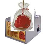 Gold Medal 4007 Satchel Bottom Candy Apple Bags, 1,000/Case