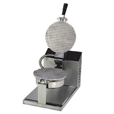 Gold Medal 5020E Giant Waffle Cone Baker w/ 8-in Danish Grid & Electronic Controls, Stainless