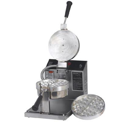 Gold Medal 5042E Belgian Waffle Baker w/ 7.25-in Removable Grid & Electronic Control