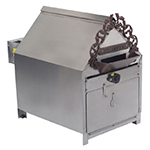 Gold Medal 5081 120208 Indoor Peanut Roaster w/ 10-lb Capacity & 35-min Cook Cycle, 120/208V