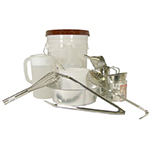 Gold Medal 5106 Funnel Cake Tool Kit w/ Pitcher, Skimmer & Spatula