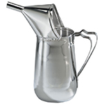 Gold Medal 5109 1.5-qt Funnel Cake Pouring Pitcher w/ Open-Up Spout, Non-Metallic Funnel