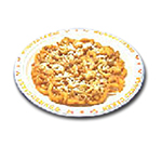 Gold Medal 5111 9-in Disposable Funnel Cake Platter w/ Printed Border, 500/Case