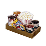 Gold Medal 5203 Disposable Concession Trays, Drive-In Style, 250/Case