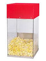 Gold Medal 5508 Popcorn Crisper w/ Single Lamp Warmer & Lexan Cabinet