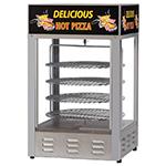 Gold Medal 5551PZL 18-in Countertop Merchandiser w/ (4) 16-in Pizza Capacity & 1-Door