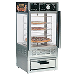 Gold Medal 5552PZ 24-in Countertop Humidified Merchandiser w/ (4) 14-in Pizza Capacity & Rotating Rack