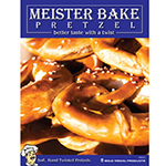 Gold Medal 5621 Meister Bake Pretzel Poster