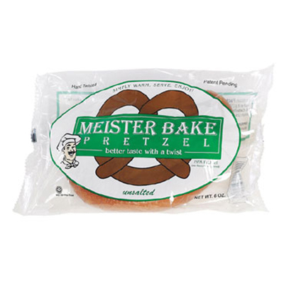 Gold Medal 5629 12-oz Unsalted Meister Bake Soft Pretzels, 40/Case