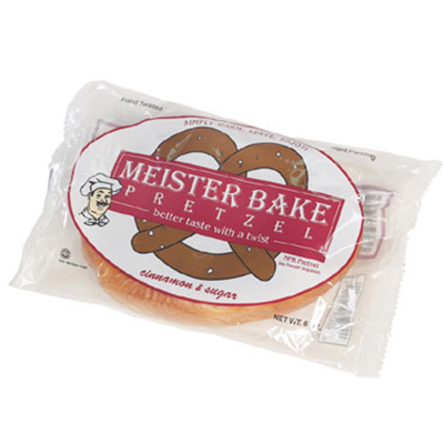 Gold Medal 5631 Cinnamon & Sugar Meister Bake Soft Pretzels, 40/Case