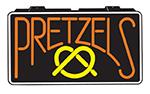 Gold Medal 5784 Pretzel Lighted Menu Sign