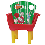 Gold Medal 7813 Whiz Bang Carnival Touch Down Toss Game Insert