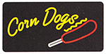 Gold Medal 7984 Corn Dogs Lighted Sign