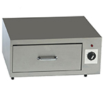 Gold Medal 8018 Lil Diggity Bun Warmer Cabinet w/ 1-Drawer & 36-Bun Capacity, Stainless