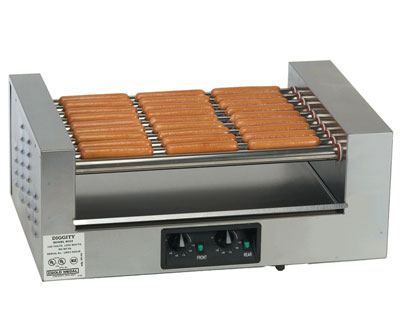 Gold Medal 8023 36-Hot Dog Roller Grill - Flat Top, 220v