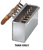 Gold Medal 8070 Regular Corn Dog Batter Dip Tank for 8-in Long Dogs