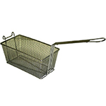 Gold Medal 8072 Half Size Fryer Basket, Steel