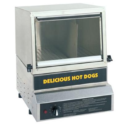 Gold Medal 8150 Heavy Duty Steamer & Bun Warmer w/ 50-Hot Dog Capacity