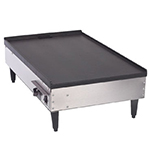 Gold Medal 8200 Flat Table Top Griddle w/ Infinite Control & Non-Stick Coated Casting