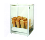 Gold Medal 8211 Giant Waffle Cone Display Case w/ Plexiglas Windows