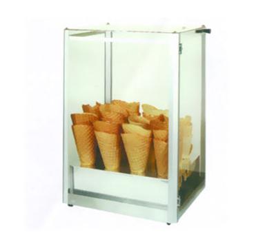Gold Medal 8211 Giant Waffle Cone Display Case w/ Plexiglas Windows