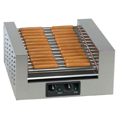 Gold Medal 8224 39 Hot Dog Roller Grill - Slanted Top, 120v