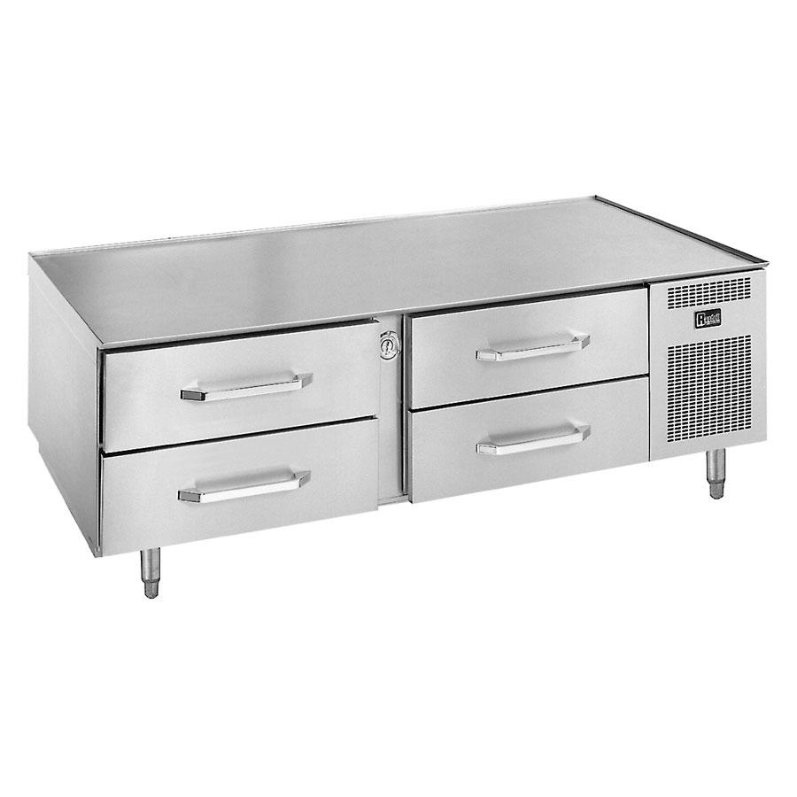 """Randell 20072SC-C4 72"""" Chef Base w/ (4) Drawers - 115v"""