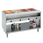 """Randell 3614-240 63"""" Hot Food Table w/ 4-Wells - 8"""" Cutting Board, 240v/1ph"""