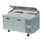 "Randell 8260NPCB 60"" Pizza Prep Table w/ Refrigerated Base, 115v"
