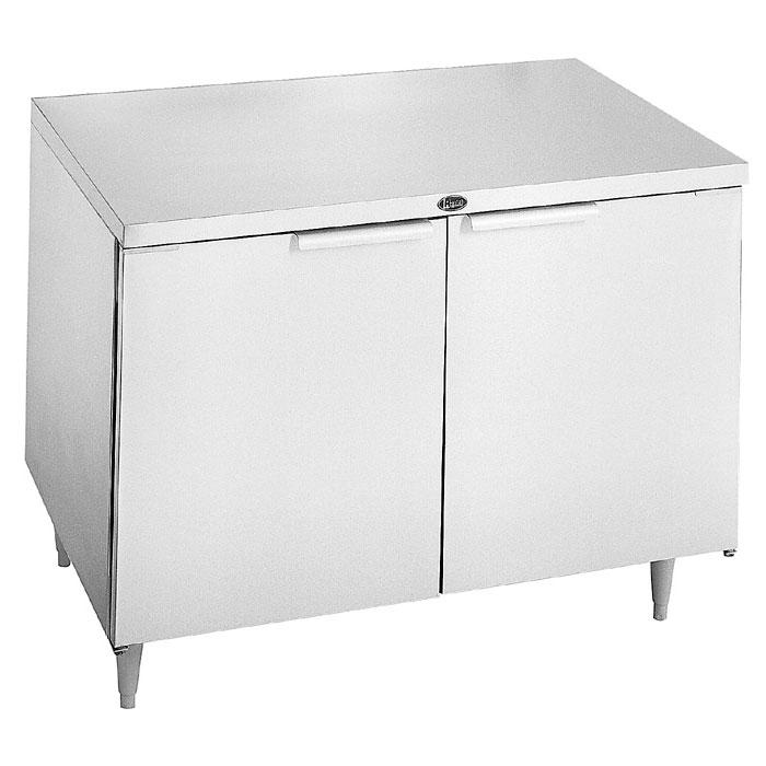 Randell 9301-7 10.82-cu ft Undercounter Refrigerator w/ (2) Sections & (2) Doors, 115v
