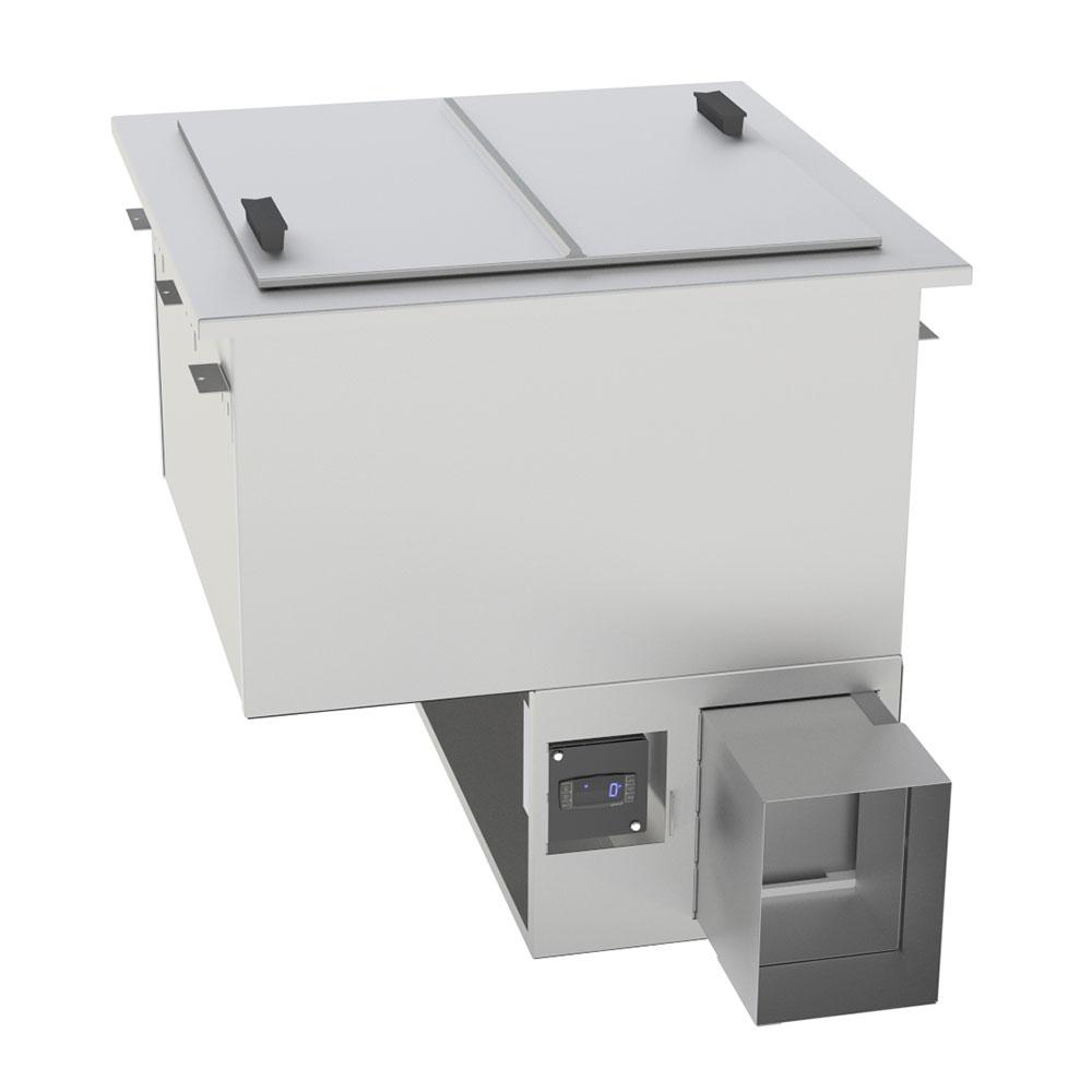 "Randell 9552A 28.38"" Drop-In Ice Cream Freezer w/ 4-Tub Capacity, 115v"