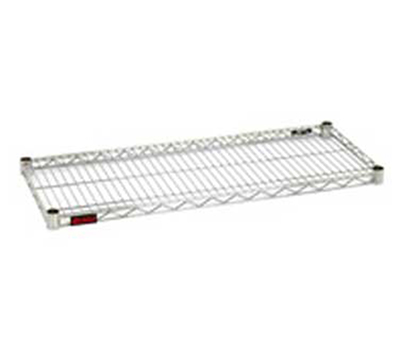 "Eagle Group 2472S Wire Shelving - QuadTruss Design, 24x72"", Stainless"