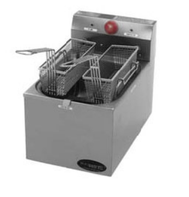 Eagle Group EF10-240-X Countertop Electric Fryer - (1) 15-lb Vat, 208-204v/1ph