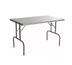 "Eagle Group T2460F 24x60"" Stainless Folding Table"