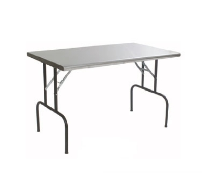 "Eagle Group T3072F 30x72"" Stainless Folding Table"