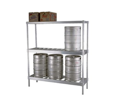 Eagle Group KR1860A-X Keg Rack Unit - 6-Keg Capacity, 18x60x76