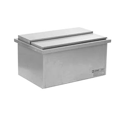 "Eagle Group DIC1420 24"" Drop-In Ice Chest - 72-lb Capacity, Stainless"