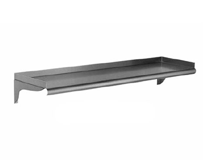 "Eagle Group WS12108-16/4 12x108"" 16/430 Stainless Wall-Mount Shelf"