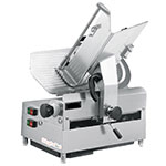 "Skyfood 1212E 12"" Single Speed Automatic Slicer w/ Full Stroke, Stainless Blade"
