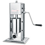 Skyfood 3V 6.5-lb Manual Sausage Stuffer - Vertical, Stainless