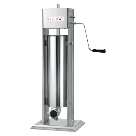 Skyfood 7V Vertical Sausage Stuffer w/ 15-lb Capacity, Stainless