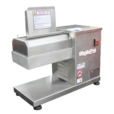 Skyfood ABS Countertop Meat Tenderizer w/ 880-lb/Hr Production - Stainless, 110v