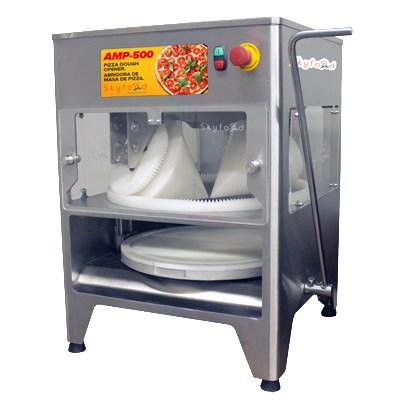 """Skyfood AMP-500 20"""" Pizza Dough Opener w/ 240-Pie/Hr Production - Stainless, 115v"""
