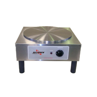 "Skyfood CCMS 110V 14""  Round Crepe Cooking Machine, Stainless, 110v"