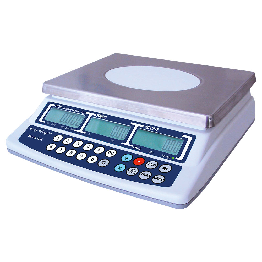 Skyfood CK-30PLUS 30-lb Price Computing Scale - Rechargeable Battery, 120v
