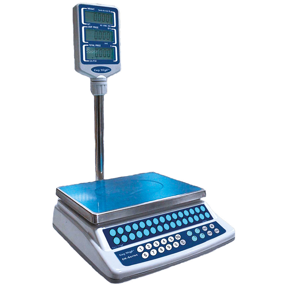 Skyfood CK-P60PLUS 60-lb Price Computing Scale - Pole Display, 120v