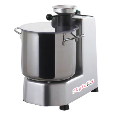 Skyfood CR-5 1-Speed Cutter Mixer Food Processor w/ 5-qt Bowl, 120v