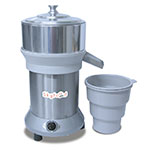 Skyfood EX Citrus Juicer w/ Aluminum Juice Housing, Stainless Body, 110 V