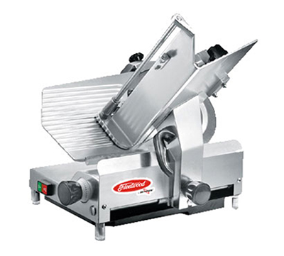 Fleetwood 312EC Full-Size Heavy Duty Slicer w/ Gravity Feed, Stainless Blade